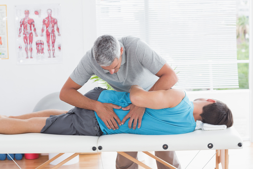 What services can be included in a physical therapy contract?